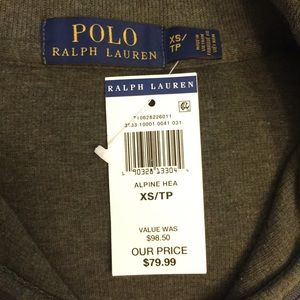 Ralph Lauren Polo Half Zip Up Sweater